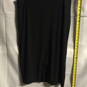 Alfani Womens Skirt Deep Black Size XL Solid Black